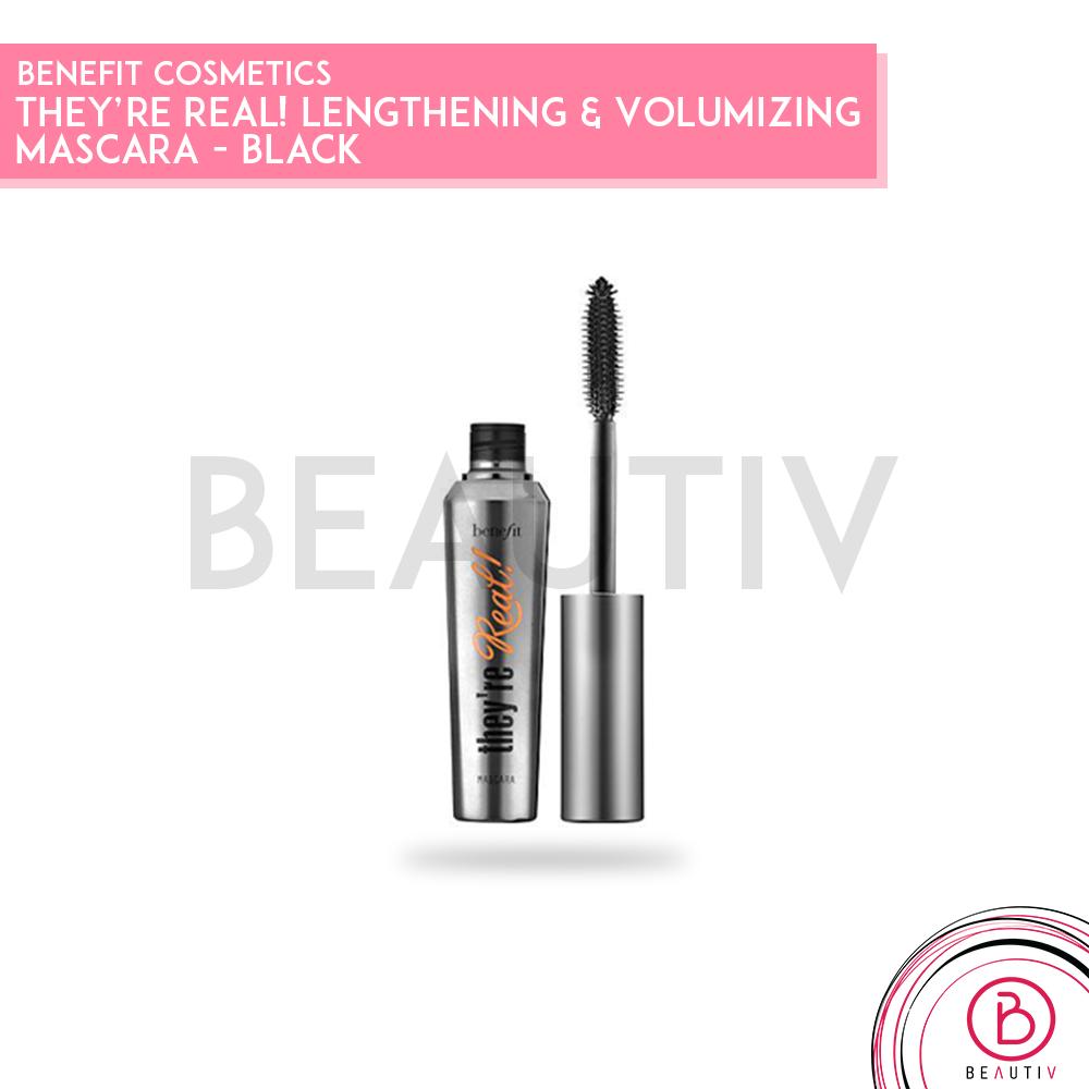 ac42bb8dda3 Benefit Cosmetics They're Real! Lengthening & Volumizing Mascara - Black
