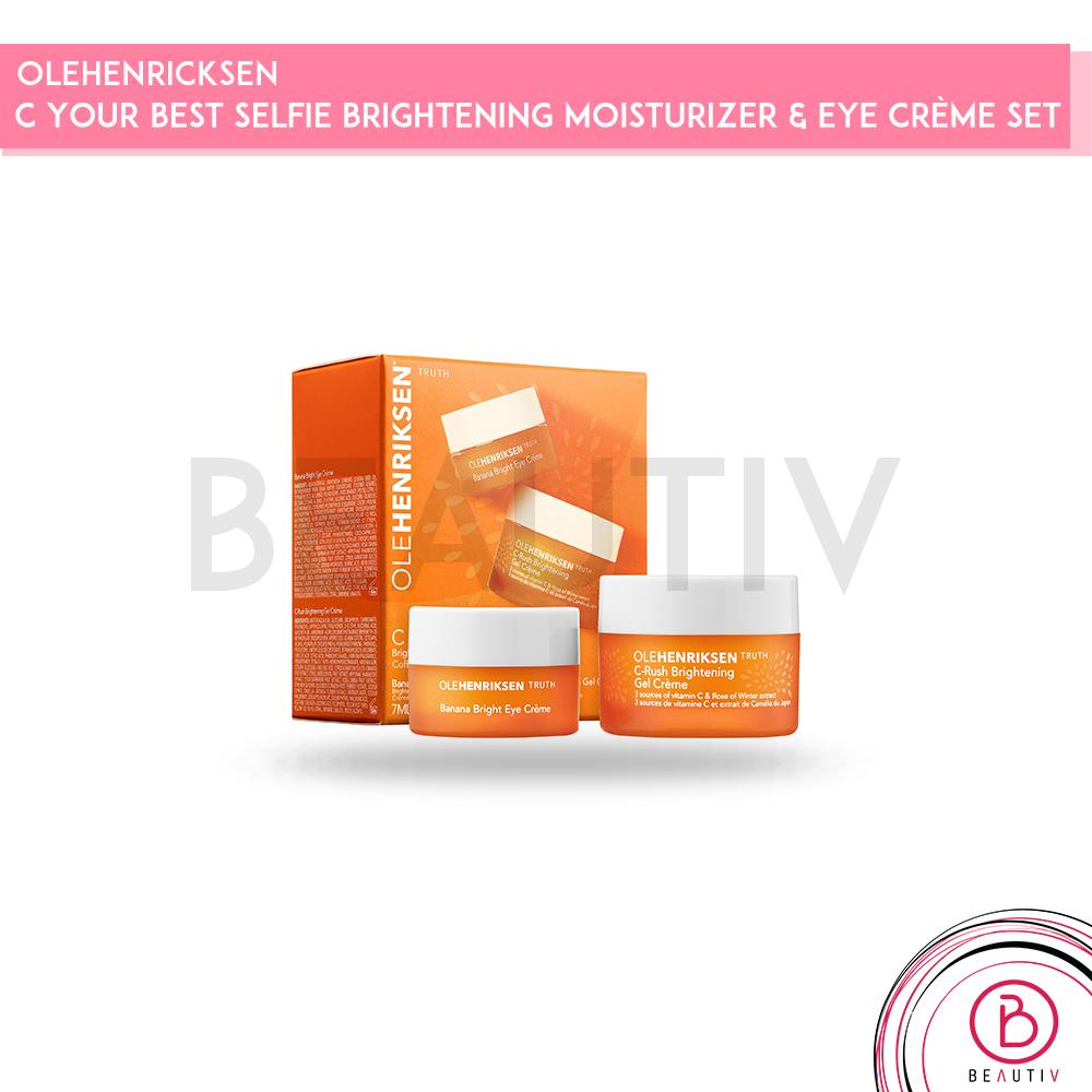 C Your Best Selfie Brightening Moisturizer & Eye Crème Set by ole henriksen #10