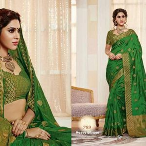 68be609dc9279a Original Indian RAJGURU KATAAN Saree