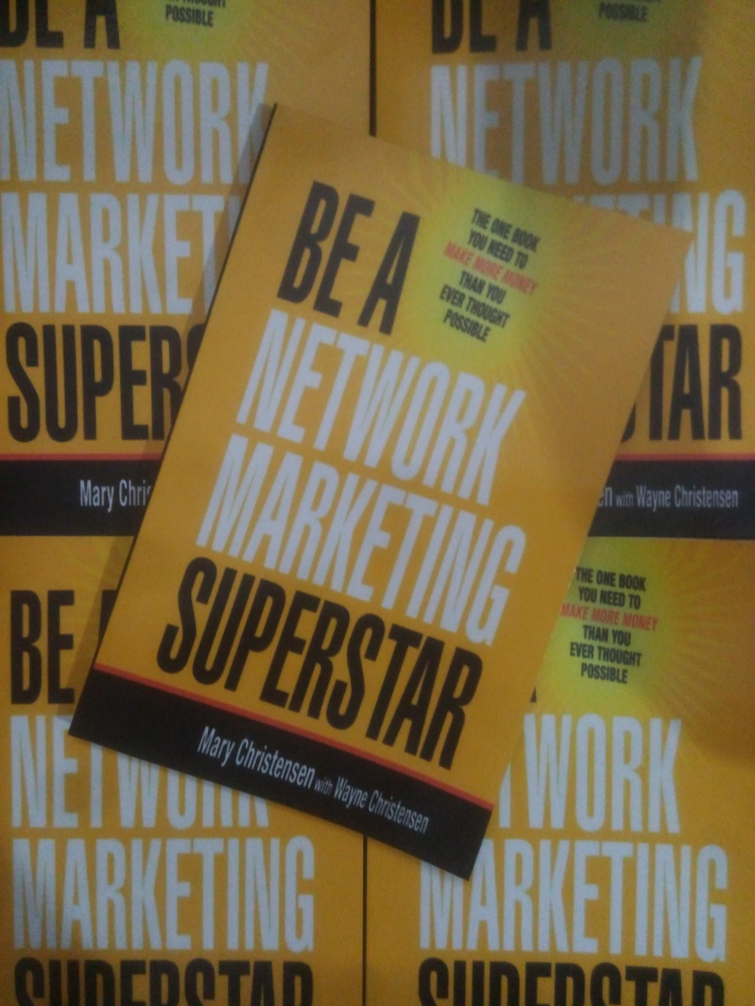 finest selection 2377d dd375 Be A Network Marketing Superstar by Mary Chirstensen.